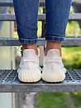 Adidas Yeezy Boost 350 Cream White (белые), фото 8