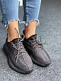 Adidas Yeezy Boost 350 Black (черные) (Full Ref), фото 5