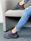 Adidas Yeezy Boost 350 Black (черные) (Full Ref), фото 10