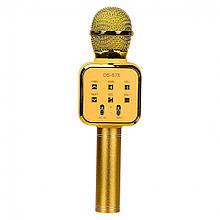 Мікрофон DS-878 караоке (Gold)