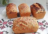 """Хліб живий пшеничний бездріжджовий """"Цільнозерновий"""" 0,5кг ТМ Живий хліб"""