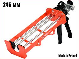 Пистолет для герметика с двойным картриджем Yato YT-67574