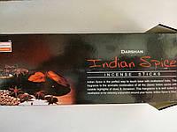 Darshan Индийские специи Indian Spice Ароматические угольные палочки Благовония Шестигранник