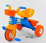 Трехколесный велосипед Pilsan пластиковый 07-169, фото 2