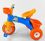 Трехколесный велосипед Pilsan пластиковый 07-169, фото 5