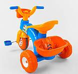 Трехколесный велосипед Pilsan пластиковый 07-169, фото 4