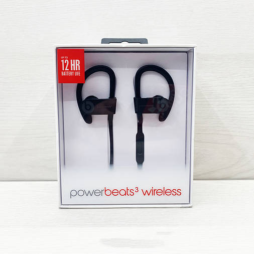 Навушники bluetooth BEATS Powerbeats 3 by dr.dre (чорні), фото 2