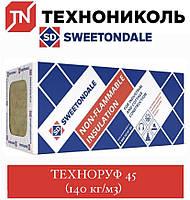 Утеплювач ТЕХНОНІКОЛЬ Техноруф 45 (140 кг/м3) 80 мм