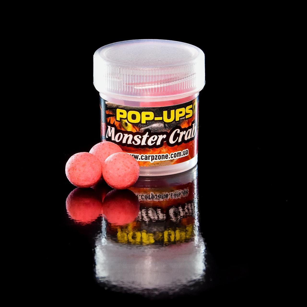 Поп Ап Pop-Ups Fluro Monster Crab (Монстр Краб) 12mm/10pc