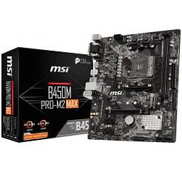 Материнська плата MSI B450M PRO-MAX M2