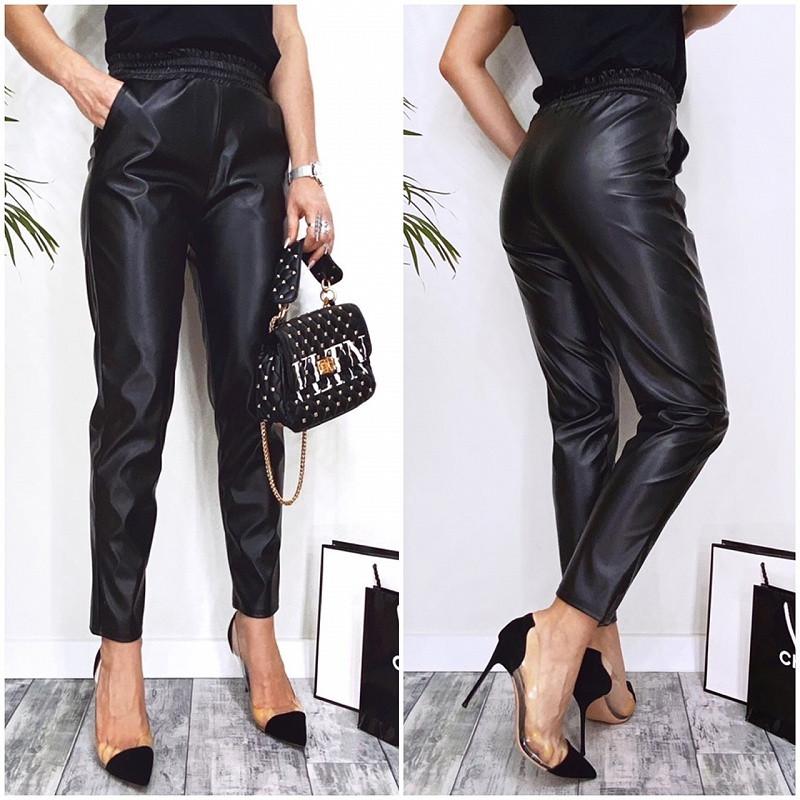 Жіночі шкіряні штани