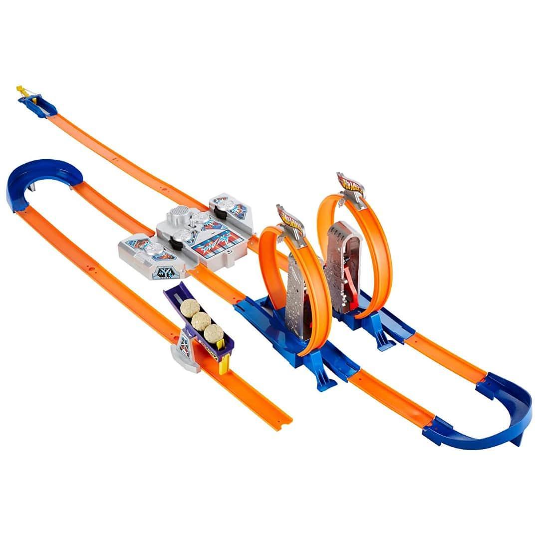 Трек Хот Вілс Подвійне прискорення Hot Wheels Track Builder Total Turbo Takeover Track Set