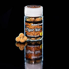 Бойли насадкові порошать Boilies Method & Feeder series Soluble Tiger Nut (Тигровий горіх) 11mm / 40pc