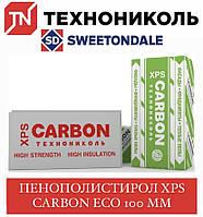 Техноніколь XPS CARBON ECO Пінополістирол 100 мм
