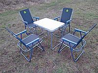 Набор складной мебели для пикника и отдыха ( 1 стол+ 4 кресла)