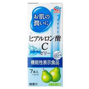 Earth Біохімічний Hyaluron C Jelly Гіалуронова кислота желе, 7 шт по 10 г