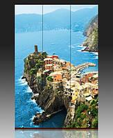 "Ширма деревянная ""Vernazza. Cinque Terre National Park"""""