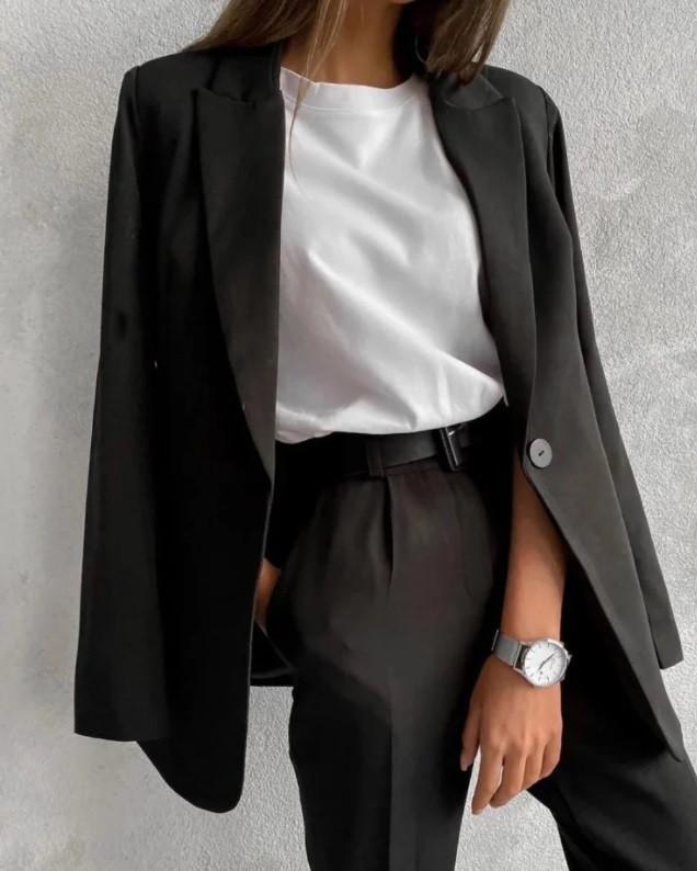 Жіночий діловий костюм-двійка Harper