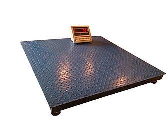 Платформенные весы ВПЕ-Центровес 1000кг (1000*1200мм)