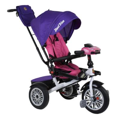 Велосипед трехколесный Best Trike 9288 В - 7598 фиолетово-розовый
