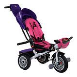 Велосипед трехколесный Best Trike 9288 В - 7598 фиолетово-розовый, фото 3