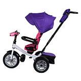 Велосипед трехколесный Best Trike 9288 В - 7598 фиолетово-розовый, фото 4