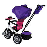 Велосипед трехколесный Best Trike 9288 В - 7598 фиолетово-розовый, фото 5