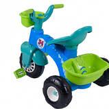 Велосипед триколісний Pilsan 07-169 салатово-блакитний, фото 2