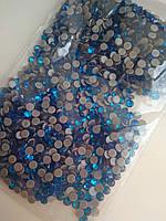 Стразы премиум Best термоклеевые Capri Blue ss16 (4.0mm)