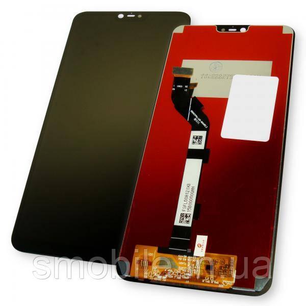 Дисплей Xiaomi Mi8 Lite с сенсором, черный (копия ААА)