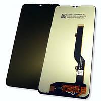Дисплей ZTE Blade 20 Smart V2050 с сенсором, черный (оригинальные комплектующие)