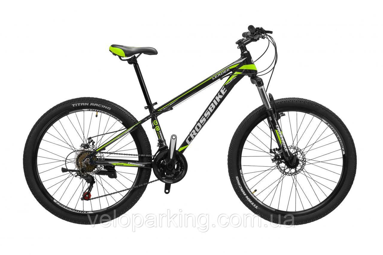 Гірський алюмінієвий Crossbike Leader 26 велосипед new