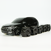 Подарок на 14 февраля парню, мужу, любимому - бутылка в форме BMW X5. Подарок на день влюблённых.