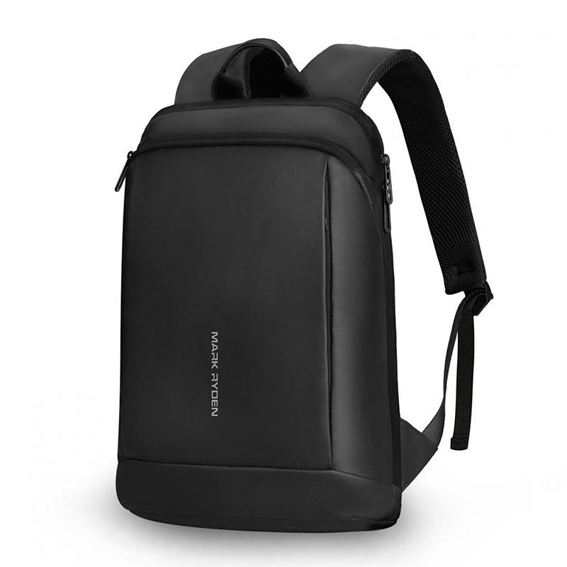 Легкий компактний міський рюкзак Mark Ryden з відділенням для ноутбука, Чорний рюкзак унісекс
