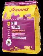 Josera MiniDeluxe 0,9 кг  беззерновой корм с ягненком для собак мелких пород