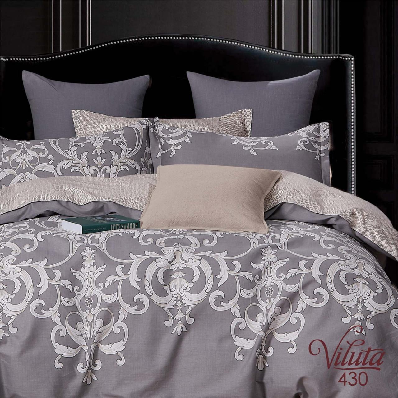 Комплект постельного белья полуторный Вилюта Сатин Twill 430