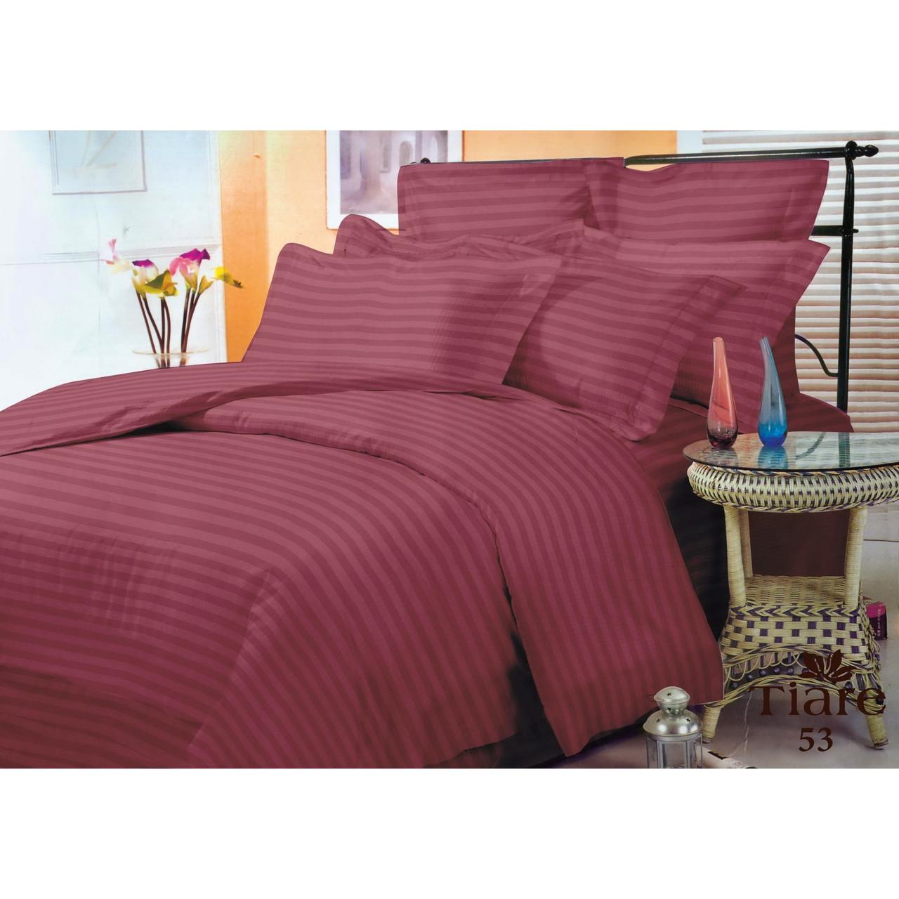 Комплект постельного белья Семейний Сатин Stripe 53 Tiare™