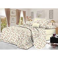 Комплект постельного белья Семейный Сатин Twill 307