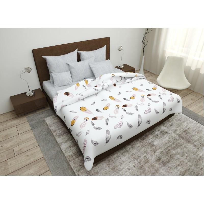 Комплект постельного белья SoundSleep Feathers бязь двуспальный