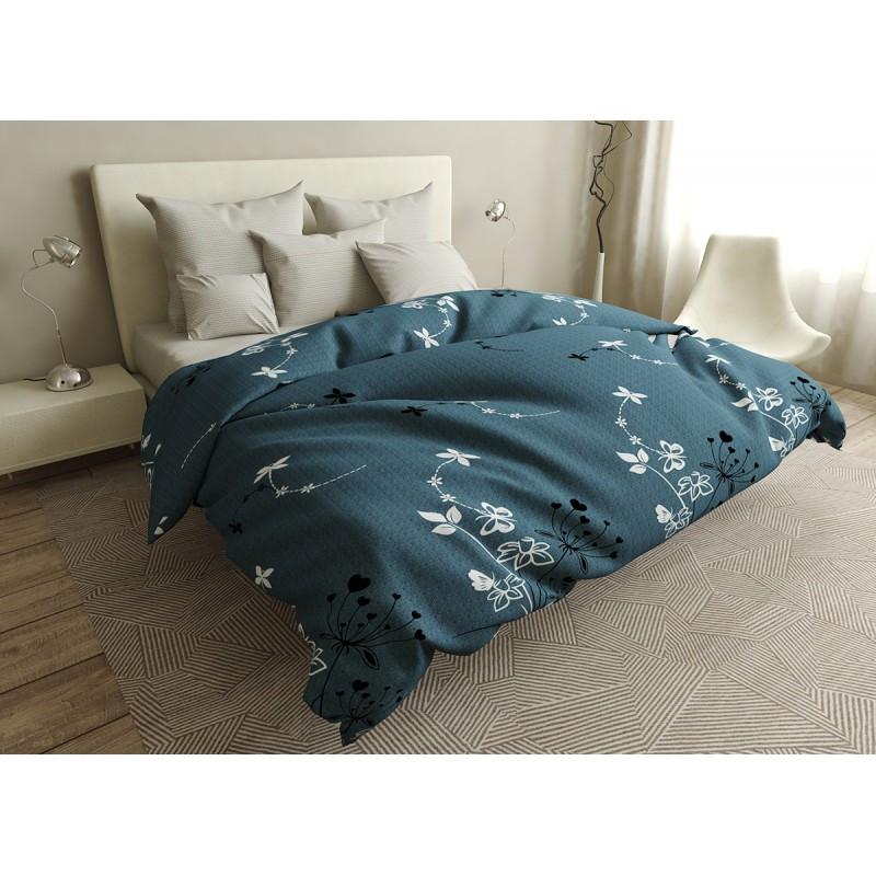 Комплект постельного белья White dragonflies SoundSleep бязь евро