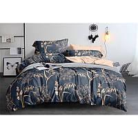 Комплект постельного белья Beige flowers SoundSleep бязь двуспальный