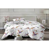 Комплект постільної білизни Hummingbird flies SoundSleep бязь двоспальний, фото 1