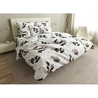 Комплект постельного белья Brown leaves SoundSleep бязь двуспальный
