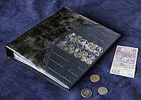 Альбом для 692 монет и 12 бон ЛЮКС Серебро