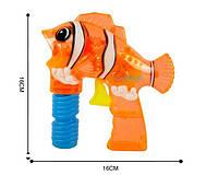 Пістолет для пускання мильних бульбашок Рибка