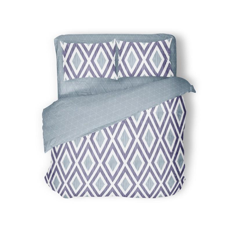 Комплект постельного белья Violet Rhombus SoundSleep двуспальный