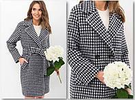 Женское пальто прямого силуэта, фото 1