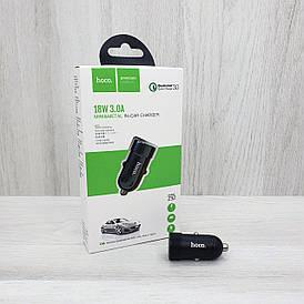 Автомобильное зарядное устройство HOCO Z32 3A 1USB (чёрное)