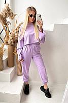 Жіночий яскравий спортивний костюм з укороченою кофтою в кольорах (Норма), фото 9