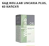 БАД WELLLAB UNCARIA PLUS 60 КАПСУЛ. Комплексная поддержка иммунитета. УЦЕНКА! УПАКОВКА ПОВРЕЖДЕНА, фото 2